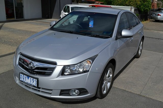 Used Holden Cruze JG CDX, 2009 Holden Cruze JG CDX Silver 6 Speed Automatic Sedan