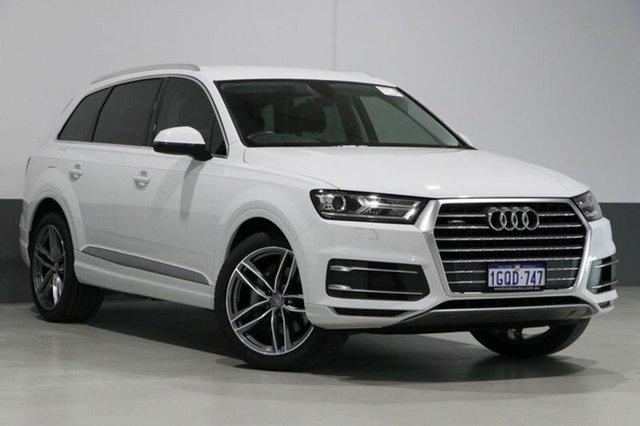 Used Audi Q7 4M MY17 3.0 TDI Quattro (160kW), 2017 Audi Q7 4M MY17 3.0 TDI Quattro (160kW) White 8 Speed Automatic Tiptronic Wagon