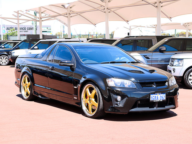 Used Holden Special Vehicles Maloo E Series R8, 2007 Holden Special Vehicles Maloo E Series R8 Black 6 Speed Automatic Utility