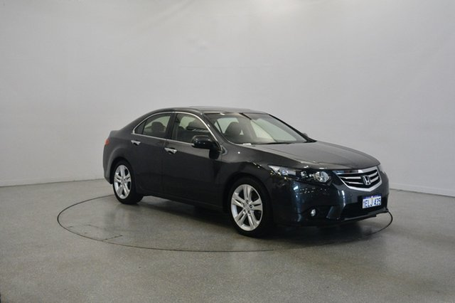 Used Honda Accord Euro CU MY13 Luxury, 2012 Honda Accord Euro CU MY13 Luxury Grey 5 Speed Automatic Sedan