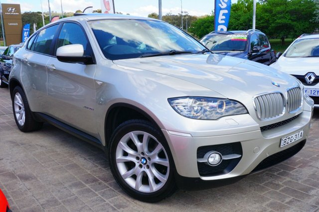 Used BMW X6 E71 MY11 xDrive40d Coupe Steptronic, 2011 BMW X6 E71 MY11 xDrive40d Coupe Steptronic Silver 8 Speed Sports Automatic Wagon