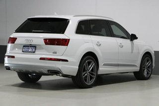2017 Audi Q7 4M MY17 3.0 TDI Quattro (160kW) White 8 Speed Automatic Tiptronic Wagon