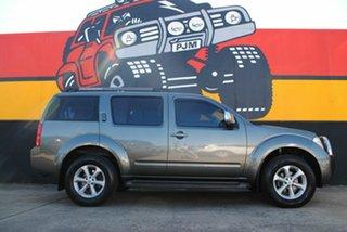 2009 Nissan Pathfinder R51 MY08 TI Graphite Grey 5 Speed Sports Automatic Wagon.