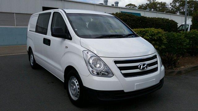 Used Hyundai iLOAD TQ2-V MY15 Crew Cab, 2015 Hyundai iLOAD TQ2-V MY15 Crew Cab White 5 Speed Automatic Van
