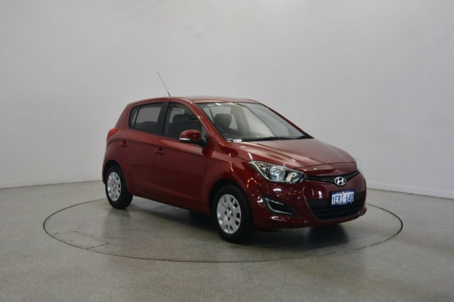 Used Hyundai i20 PB MY15 Active, 2014 Hyundai i20 PB MY15 Active Red 4 Speed Automatic Hatchback
