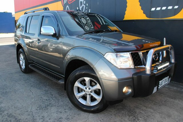 Used Nissan Pathfinder R51 MY08 TI, 2009 Nissan Pathfinder R51 MY08 TI Graphite Grey 5 Speed Sports Automatic Wagon