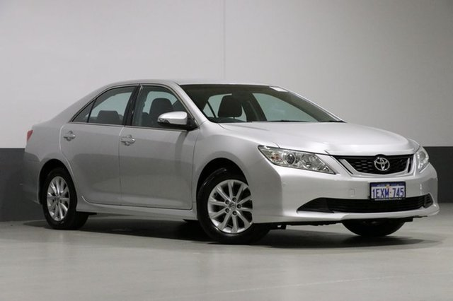 Used Toyota Aurion GSV50R AT-X, 2015 Toyota Aurion GSV50R AT-X Silver 6 Speed Automatic Sedan