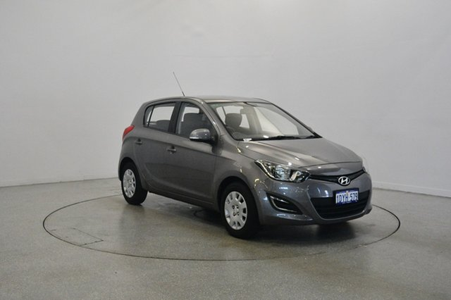 Used Hyundai i20 PB MY13 Active, 2012 Hyundai i20 PB MY13 Active Ember Grey 4 Speed Automatic Hatchback
