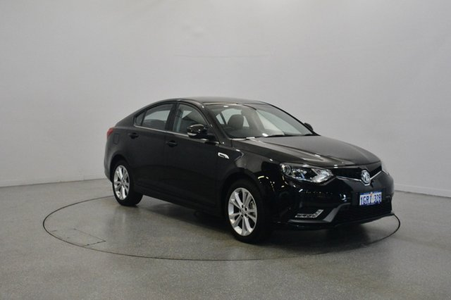 Used MG MG6 IP2X Essence, 2017 MG MG6 IP2X Essence Black 6 Speed Sports Automatic Dual Clutch Hatchback