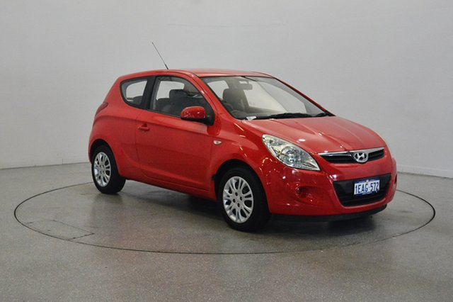 Used Hyundai i20 PB MY11 Active, 2011 Hyundai i20 PB MY11 Active Red 4 Speed Automatic Hatchback