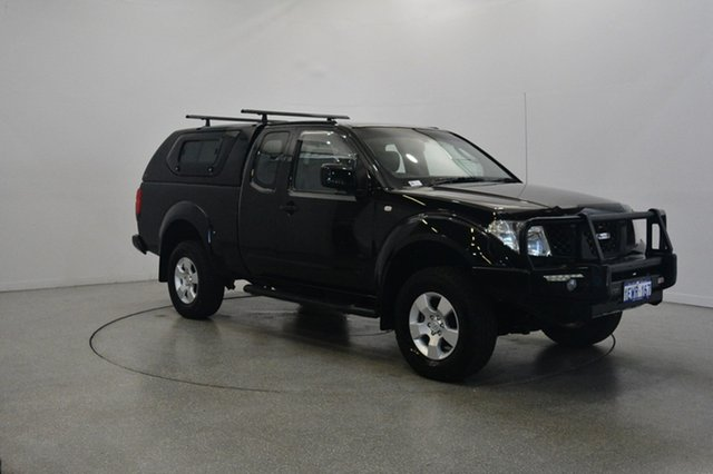 Used Nissan Navara D40 ST-X King Cab, 2009 Nissan Navara D40 ST-X King Cab Black 6 Speed Manual Utility