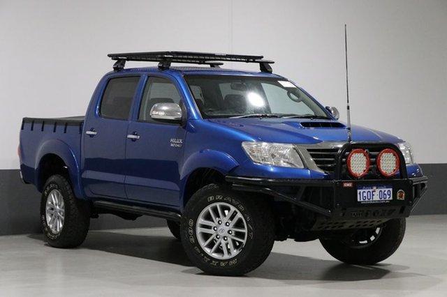 Used Toyota Hilux KUN26R MY14 SR5 (4x4), 2015 Toyota Hilux KUN26R MY14 SR5 (4x4) Blue 5 Speed Automatic Dual Cab Pick-up