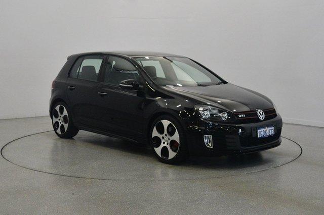 Used Volkswagen Golf VI MY11 GTi, 2011 Volkswagen Golf VI MY11 GTi Deep Black 6 Speed Manual Hatchback