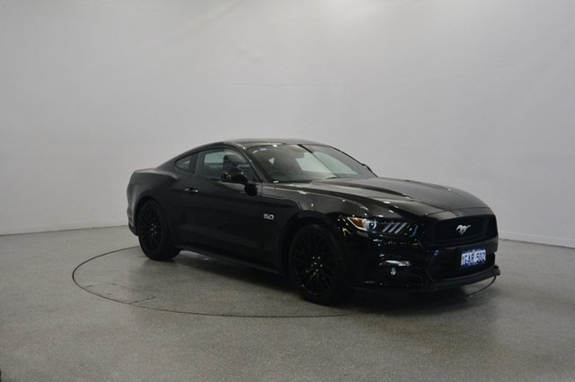 Used Ford Mustang FM 2017MY GT Fastback, 2016 Ford Mustang FM 2017MY GT Fastback Black 6 Speed Manual Fastback