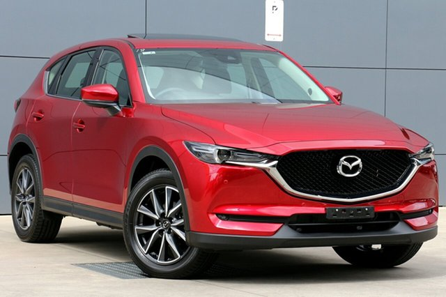 Used Mazda CX-5 KF4WLA GT SKYACTIV-Drive i-ACTIV AWD, 2017 Mazda CX-5 KF4WLA GT SKYACTIV-Drive i-ACTIV AWD Soul Red Crystal 6 Speed Sports Automatic Wagon