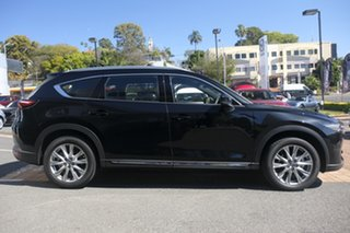 2020 Mazda CX-8 KG4W2A Asaki SKYACTIV-Drive i-ACTIV AWD Jet Black 6 Speed Sports Automatic Wagon.