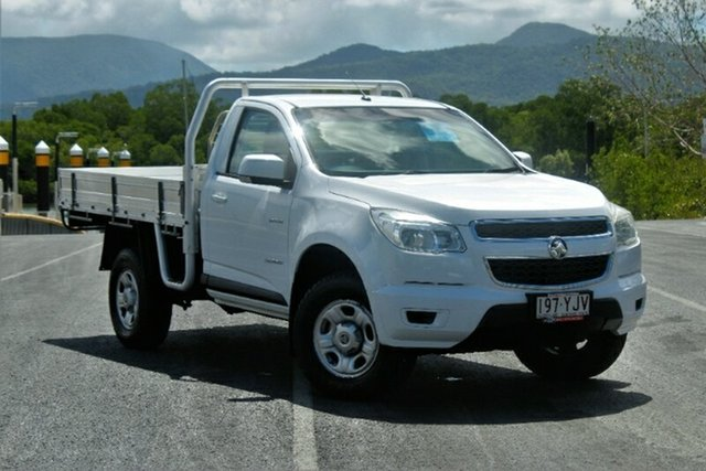 Used Holden Colorado RG MY15 LS 4x2, 2014 Holden Colorado RG MY15 LS 4x2 White 6 Speed Sports Automatic Cab Chassis