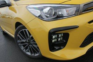 2020 Kia Rio YB MY20 GT-Line DCT Mighty Yellow 7 Speed Sports Automatic Dual Clutch Hatchback.