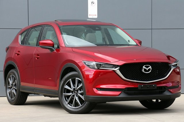 Used Mazda CX-5 KF4W2A GT SKYACTIV-Drive i-ACTIV AWD, 2018 Mazda CX-5 KF4W2A GT SKYACTIV-Drive i-ACTIV AWD Soul Red Crystal 6 Speed Sports Automatic Wagon