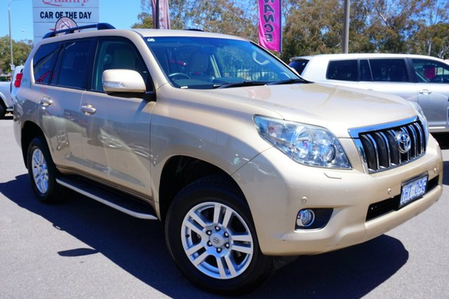 Used Toyota Landcruiser Prado GRJ150R VX, 2010 Toyota Landcruiser Prado GRJ150R VX Gold 5 Speed Sports Automatic Wagon