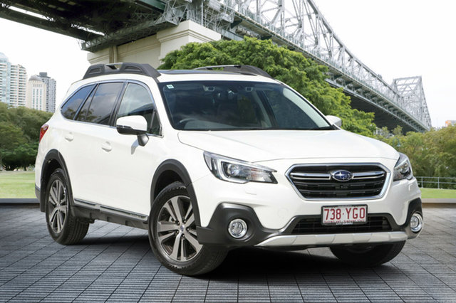Demo Subaru Outback B6A MY18 3.6R CVT AWD, 2018 Subaru Outback B6A MY18 3.6R CVT AWD White Crystal 6 Speed Constant Variable Wagon