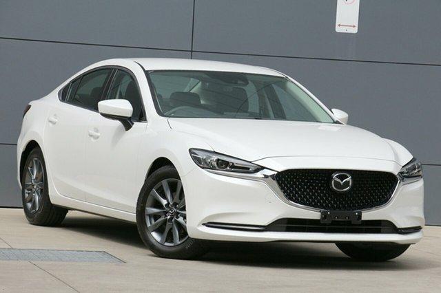 Used Mazda 6 GL1032 Sport SKYACTIV-Drive, 2018 Mazda 6 GL1032 Sport SKYACTIV-Drive Snowflake White 6 Speed Sports Automatic Sedan