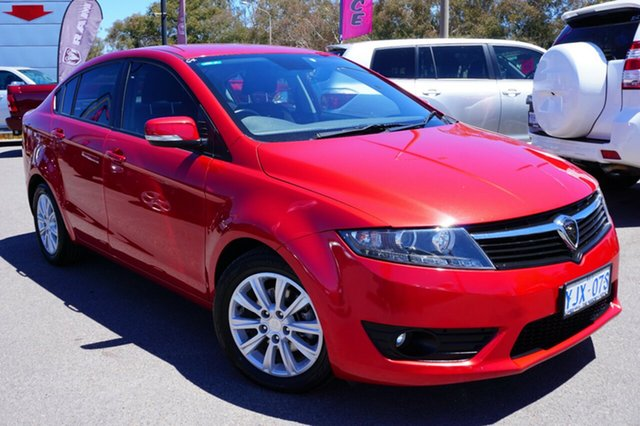 Used Proton Preve CR MY13 GXR, 2013 Proton Preve CR MY13 GXR Red 7 Speed Constant Variable Sedan