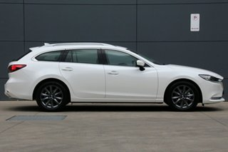 2020 Mazda 6 GL1033 Touring SKYACTIV-Drive Snowflake White 6 Speed Sports Automatic Wagon