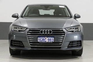 2017 Audi A4 F4 MY17 (B9) 2.0 TFSI S Tronic Sport Monsoon Grey 7 Speed Auto Dual Clutch Sedan.