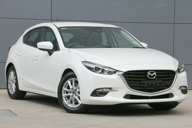 New Mazda 3 BN5476 Maxx SKYACTIV-MT Sport, 2018 Mazda 3 BN5476 Maxx SKYACTIV-MT Sport Snowflake White 6 Speed Manual Hatchback