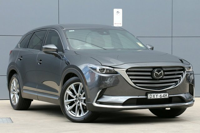Demo Mazda CX-9 TC Azami SKYACTIV-Drive i-ACTIV AWD LE, 2018 Mazda CX-9 TC Azami SKYACTIV-Drive i-ACTIV AWD LE Machine Grey 6 Speed Sports Automatic Wagon