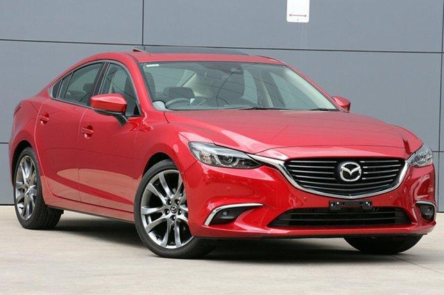 Used Mazda 6 GL1031 GT SKYACTIV-Drive, 2017 Mazda 6 GL1031 GT SKYACTIV-Drive Soul Red 6 Speed Sports Automatic Sedan