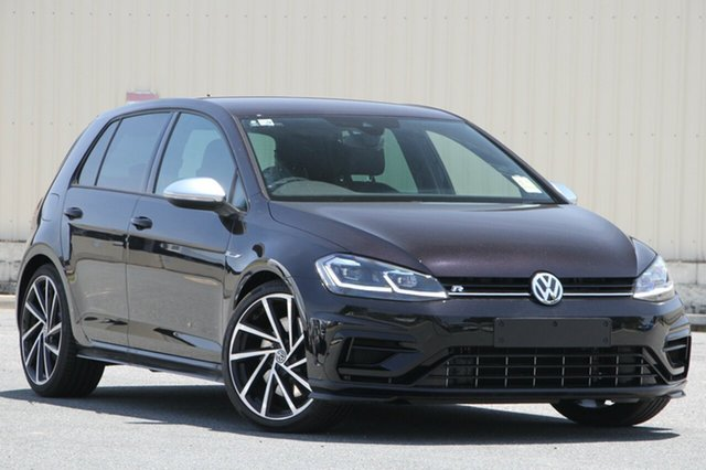 New Volkswagen Golf 7.5 MY20 R DSG 4MOTION, 2020 Volkswagen Golf 7.5 MY20 R DSG 4MOTION Black 7 Speed Sports Automatic Dual Clutch Hatchback