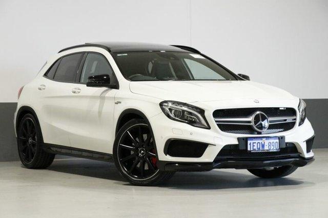 Used Mercedes-AMG GLA 45 AMG 4MATIC X156 MY16 , 2015 Mercedes-AMG GLA 45 AMG 4MATIC X156 MY16 White 7 Speed Auto Dual Clutch Wagon