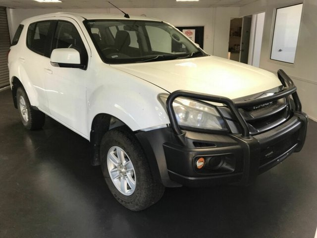 Used Isuzu MU-X UC LS-M (4x4), 2014 Isuzu MU-X UC LS-M (4x4) White 5 Speed Automatic Wagon