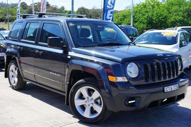 Used Jeep Patriot MK MY14 Limited, 2014 Jeep Patriot MK MY14 Limited Grey 6 Speed Sports Automatic Wagon