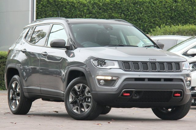 New Jeep Compass M6 MY18 Trailhawk, 2018 Jeep Compass M6 MY18 Trailhawk Grey Magnesio 9 Speed Automatic Wagon