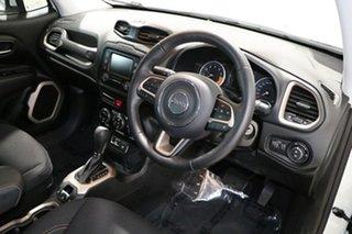2017 Jeep Renegade BU MY16 Longitude 75TH Anniversary White 6 Speed Auto Dual Clutch Wagon