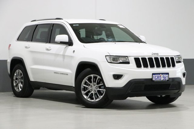 Used Jeep Grand Cherokee WK MY15 Laredo (4x4), 2016 Jeep Grand Cherokee WK MY15 Laredo (4x4) White 8 Speed Automatic Wagon