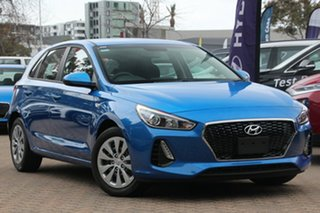 2018 Hyundai i30 PD MY18 Go Intense Blue 6 Speed Sports Automatic Hatchback.