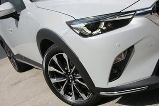 2020 Mazda CX-3 DK2W7A sTouring SKYACTIV-Drive FWD White 6 Speed Sports Automatic Wagon