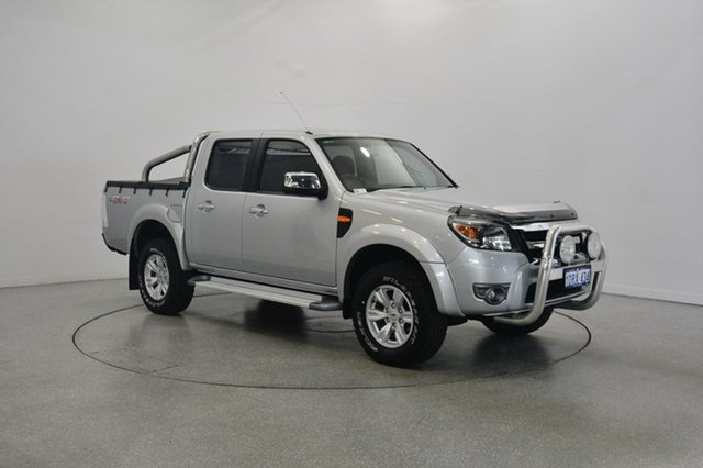 Used Ford Ranger PK XLT Crew Cab, 2011 Ford Ranger PK XLT Crew Cab Silver 5 Speed Manual Utility