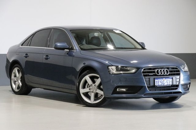 Used Audi A4 B8 (8K) MY15 2.0 TFSI Ambition Quattro, 2015 Audi A4 B8 (8K) MY15 2.0 TFSI Ambition Quattro Blue 7 Speed Auto Direct Shift Sedan