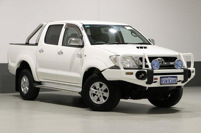 Used Toyota Hilux KUN26R 09 Upgrade SR5 (4x4), 2010 Toyota Hilux KUN26R 09 Upgrade SR5 (4x4) White 4 Speed Automatic Dual Cab Pick-up