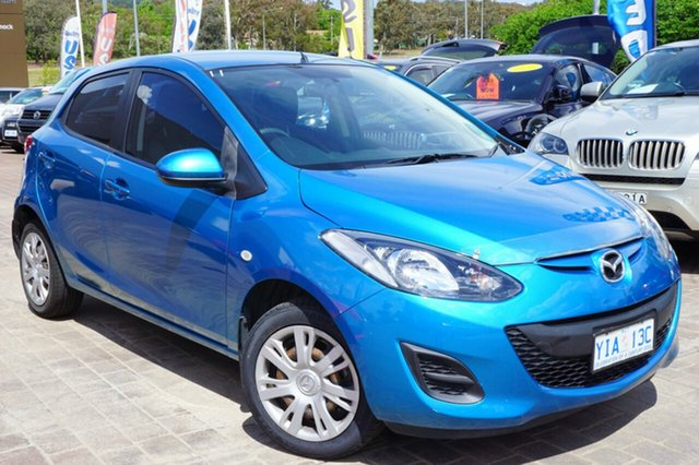 Used Mazda 2 DE10Y1 MY11 Neo, 2011 Mazda 2 DE10Y1 MY11 Neo Blue 5 Speed Manual Hatchback