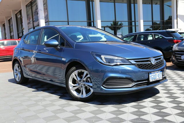 Used Holden Astra BK MY17 RS, 2017 Holden Astra BK MY17 RS Blue 6 Speed Sports Automatic Hatchback