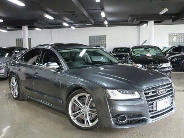 Used Audi S8 4H MY15 Tiptronic Quattro, 2014 Audi S8 4H MY15 Tiptronic Quattro Grey 8 Speed Sports Automatic Sedan