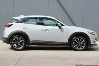 1020 Mazda CX-3 DK2W7A sTouring SKYACTIV-Drive FWD White 6 Speed Sports Automatic Wagon