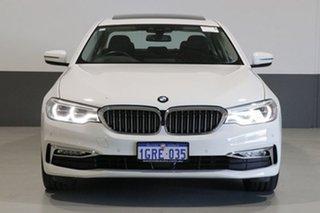 2017 BMW 530i G30 MY18 Luxury Line White 8 Speed Automatic Sedan.