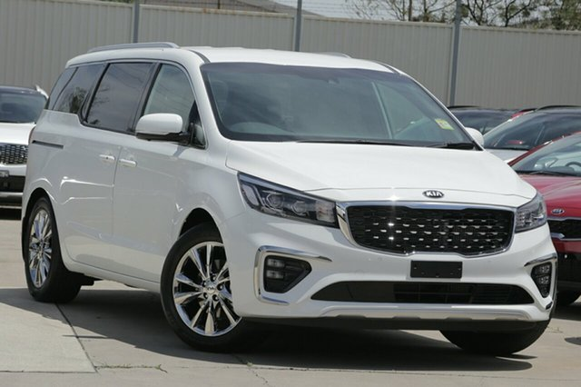 New Kia Carnival YP MY19 Platinum, 2019 Kia Carnival YP MY19 Platinum Clear White 8 Speed Sports Automatic Wagon